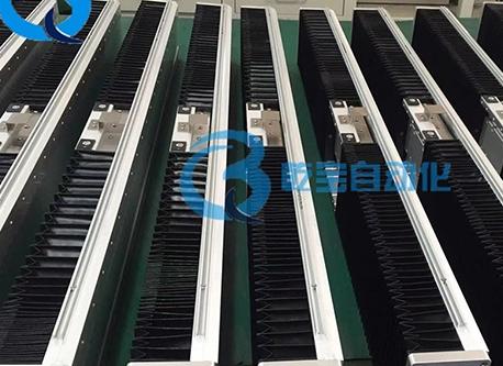 防尘自动化生产流水线使用风琴罩模组